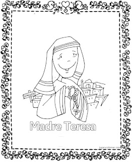 Image Result For Mother Teresa Coloring