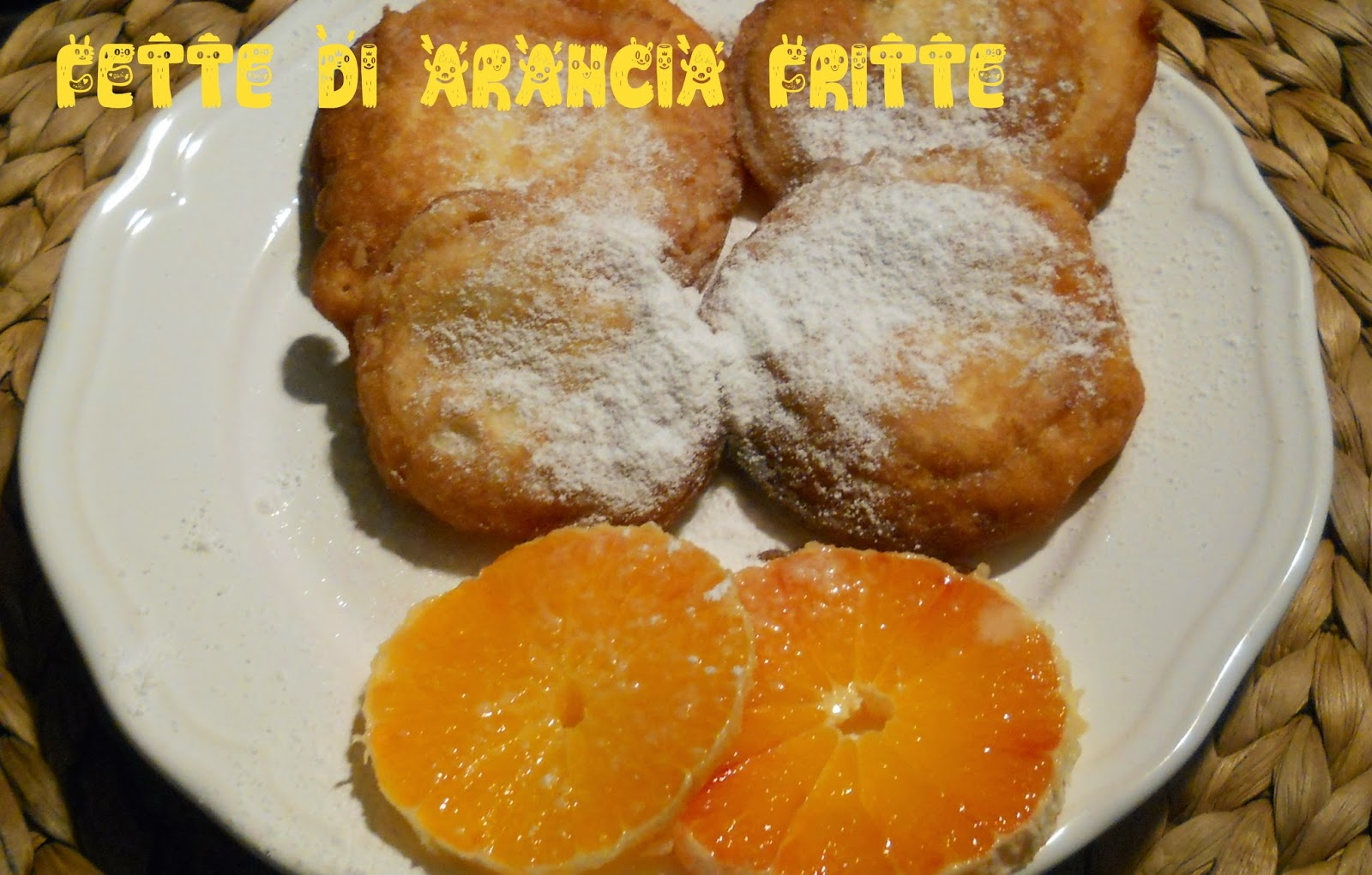 arance in pastella per l'airc