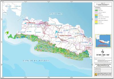 Peta Arahan Pemanfaatan Ruang berbasis Resiko Bencana di Pansela Bagian Barat