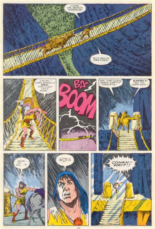 Conan the Barbarian (1970) Issue #210 #222 - English 18