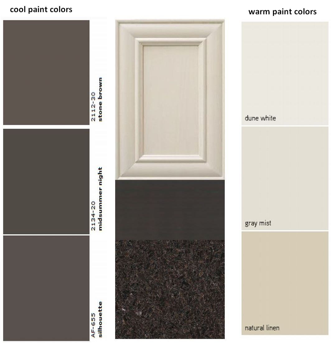 go with the paint colors this option is great for linear kitchens