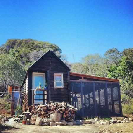 gypsy yaya tiny home in topanga canyon fab craigslist find