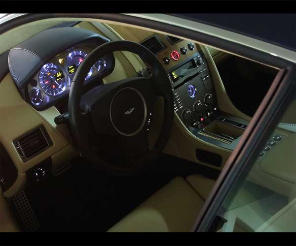 2011 Aston Martin Db9 Interior