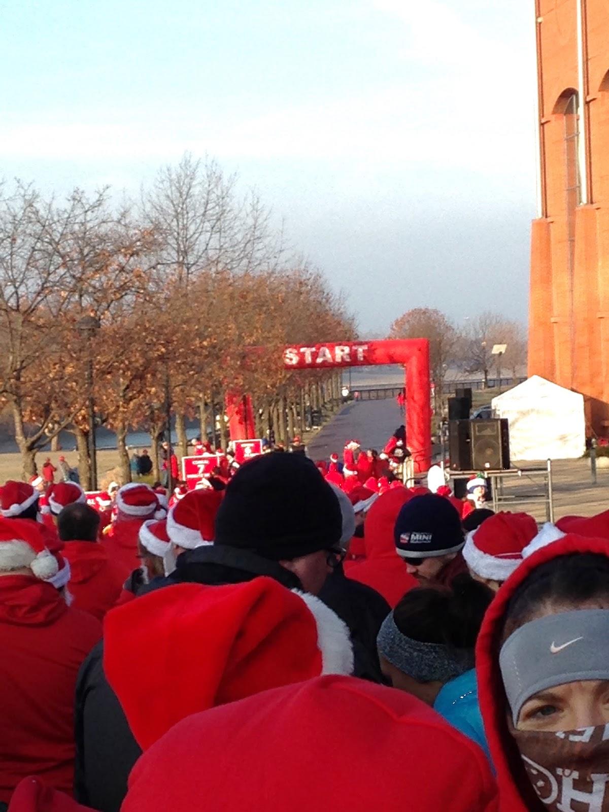 Santa Hustle 5K 2014