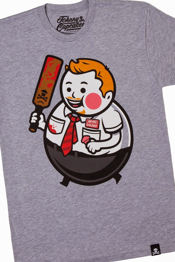 "Johnny Cupcakes x Shaun of the Dead ""Big Kid Shaunny"" T-Shirt"