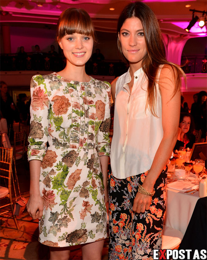 Bella Heathcote e Jennifer Carpenter: The Hollywood Reporter's 'Power 100: Women In Entertainment' Breakfast - Beverly Hills - 05 de Dezembro de 2012
