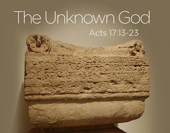 วันพุธ สัปดาห์ที่ 6 เทศกาลปัสกา: พระเจ้าที่เราไม่รู้จัก