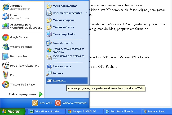 ativador windows xp professional sp3