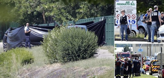 Decapitated Man's Head Found 'Covered In Arabic Writing' And Hung On A Factory Fence In France