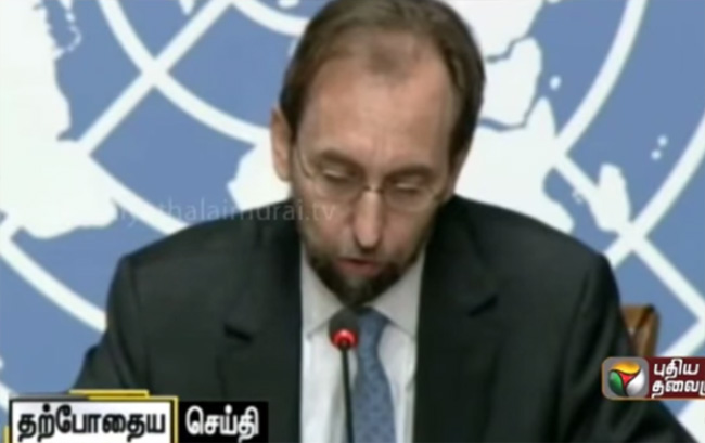 UN High Commissioner on Srilankan War Crimes: International investigation needed