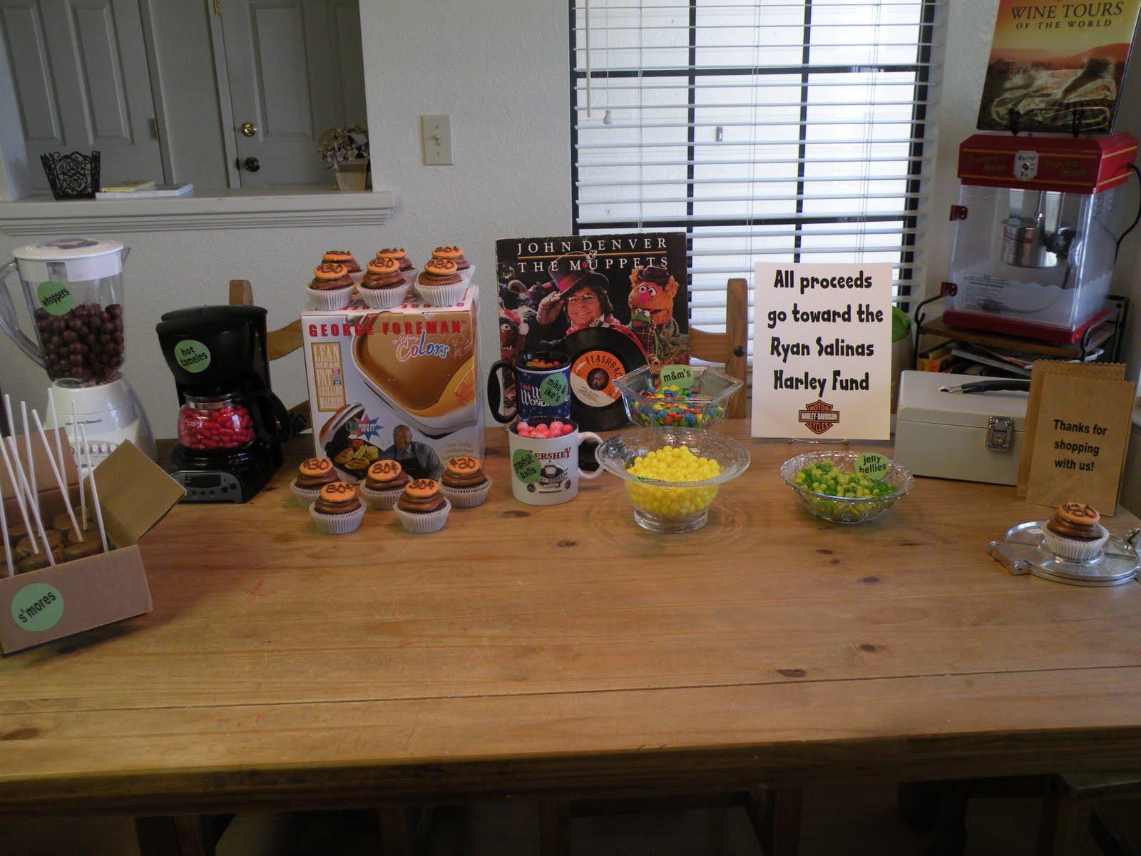 La Belle Parties: Garage Sale Dessert Table