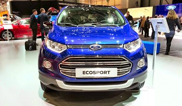 Tampilan Mobil Ford EcoSport Facelift Terbaru 2015_2
