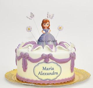 "Tort ""Printesa Sofia"" pentru Maria"