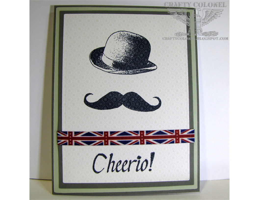 Club Scrap, Crafty Colonel, London Calling, Masculine Card