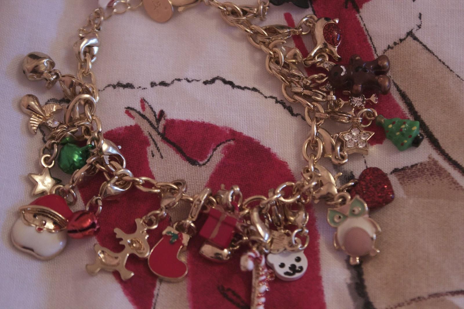 Accessorize Charm Bracelet Christmas Advent Calendar Georgie Xoxo