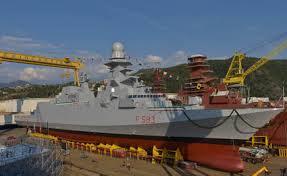 """Consegnata fremm """"Carabiniere"""" alla Marina Militare Italiana"""