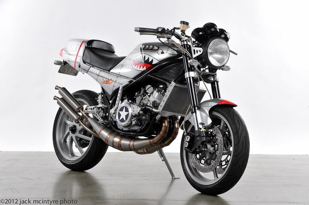 Racing Caf U00e8  Yamaha  U0026quot Rzr U0026quot  Special