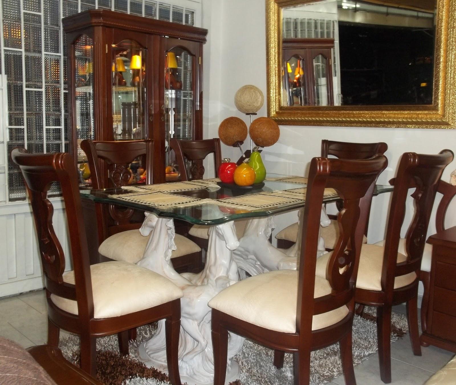 Muebles y decoraciones julian for Comedor 8 puestos bogota