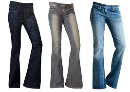 How to choose jeans for different body types (girls)