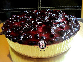 Blueberry/Strawberry Cheese Cake