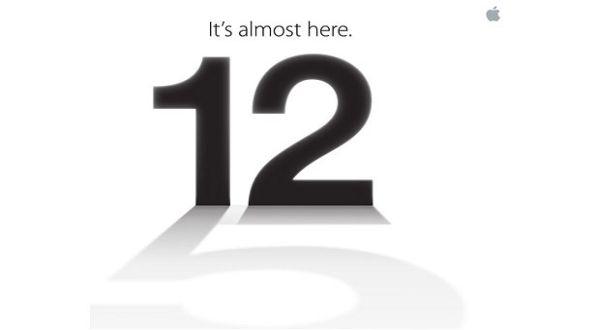 12 September 2012 Apple akan mengumumkan iPhone 5