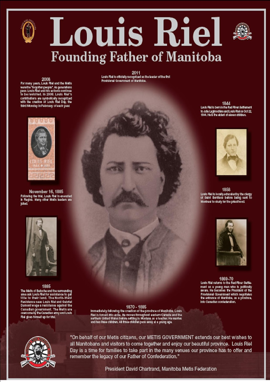 louis riel and gabriel dumont essay Riel names, many called been has riel louis prophet, a called been has he statesman, a scoundrel, a hero, a madman, a visionary, a hero, a traitor, a described best is riel louis but treason, of guilty is riel louis that believe i ways many in.