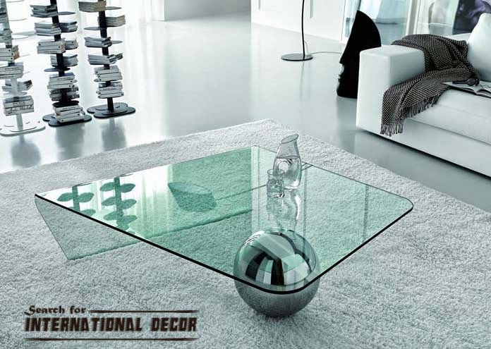 unique coffee table,contemporary glass coffee table