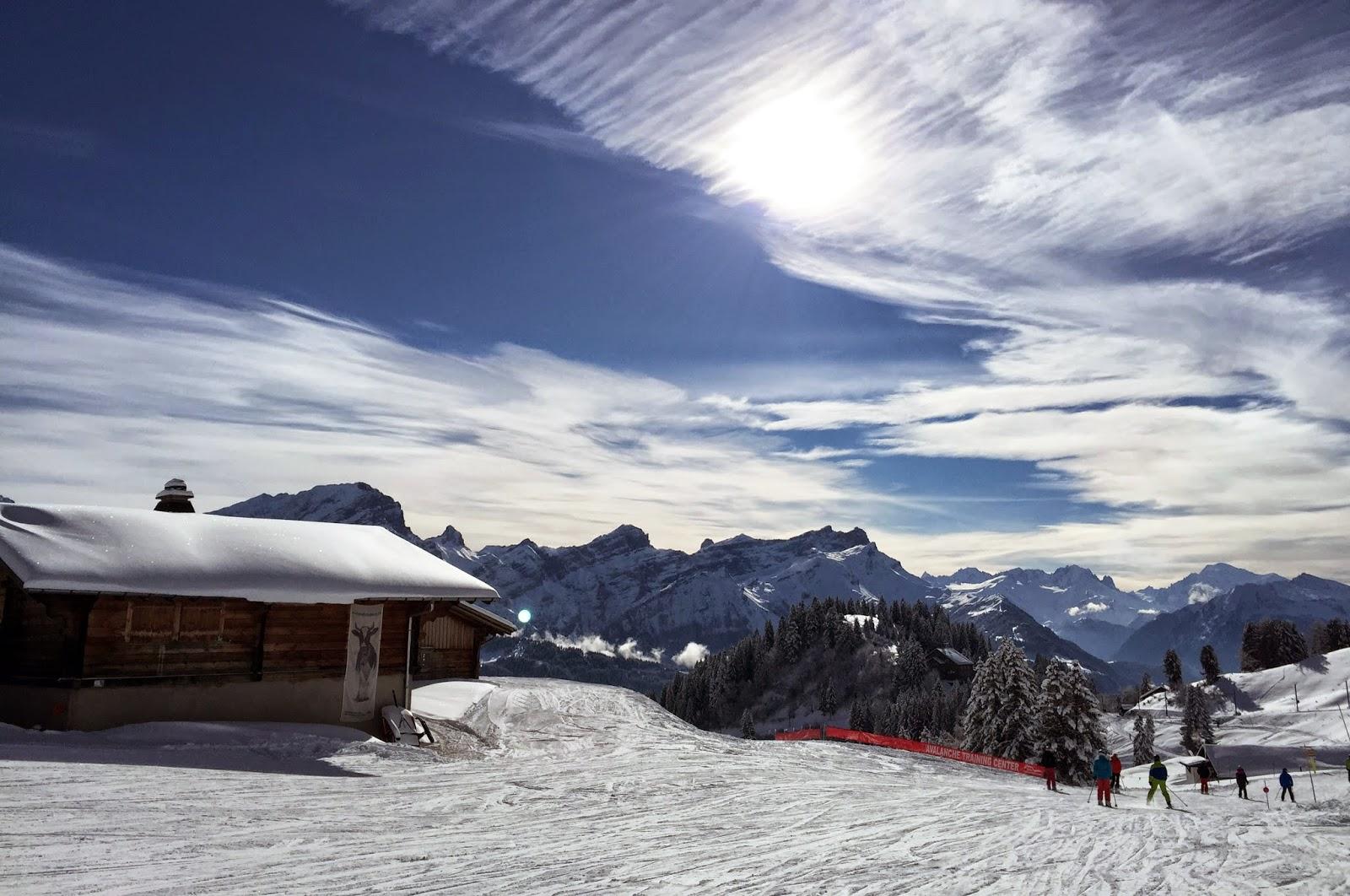 pistes ski villars-sur-ollon  diablerets location alquiler esquís