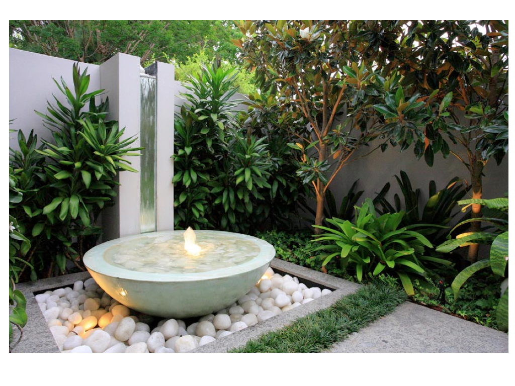 Garden water feature ideas 2017 2018 best cars reviews for Garden feature ideas