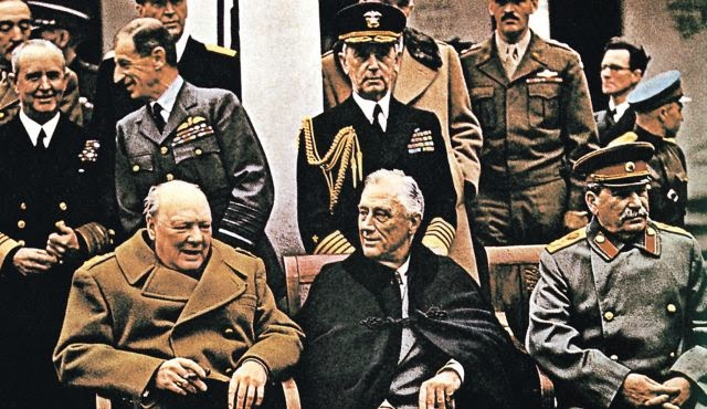 from yalta to berlin thesis Annotated bibliography the wall such as the yalta agreement and surrender of berlin to the soviet, while this did not directly impact the thesis it showed.