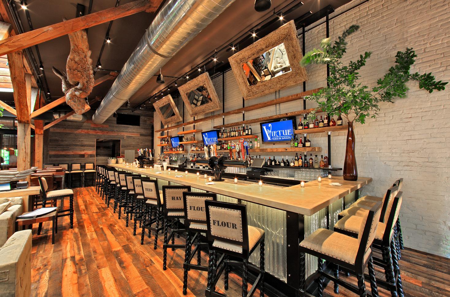 kaper design; restaurant & hospitality design inspiration: virtue