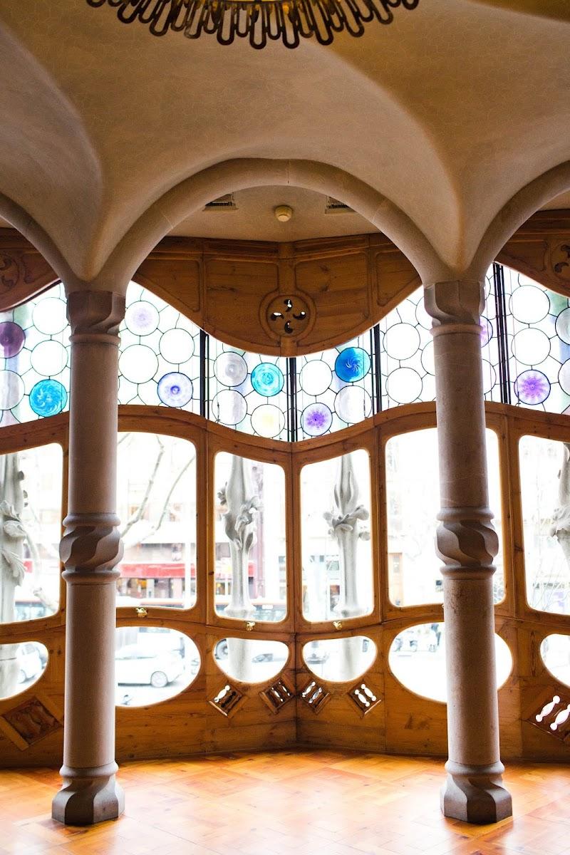 Barcelona, Spain; Antoni Gaudi