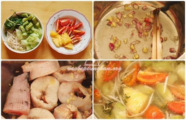Cách nấu canh chua cá lóc Miền Tây 2