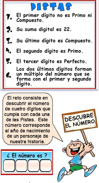 Descubre el número, El número oculto, Descifra el número, Qué número es, Pasatiempo, Desafío Matemático, Problemas matemáticos, Problemas de Ingenio