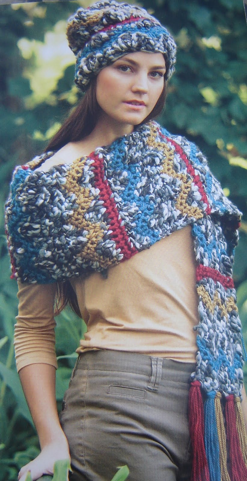 ... La Plata: Si lo dice Chanel...boinas y gorras tejidas para todos