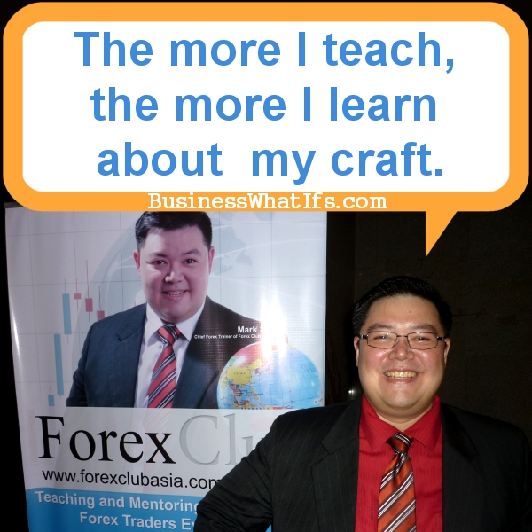 Mark So of Forex Club Asia
