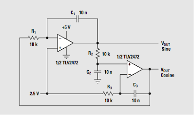 Sine Wave Generator Function Generator Xr2206 moreover 555 besides Noninverting  lifier Schematic further mGenerators as well Lm324 Sine Wave Oscillator. on lm324 sine wave