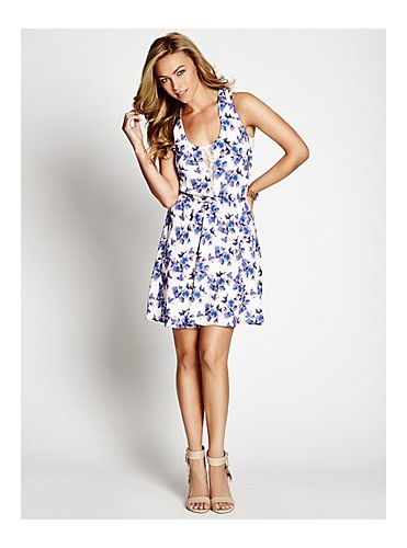 fleur sleeveless dress by GUESS