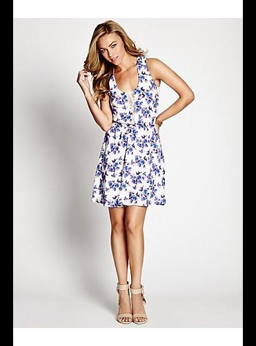 fleur sleeveless dress by GUESS