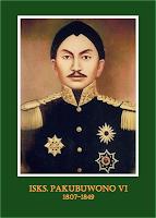 gambar-foto pahlawan nasional indonesia, Sri Susuhunan Pakubuwono VI