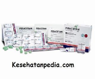 Indikasi Piracetam 800 mg tablet