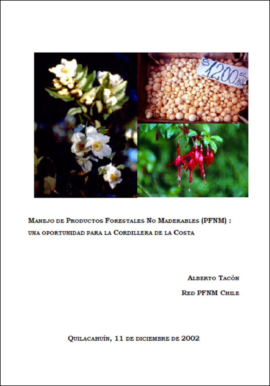Biblioman a chilena manejo de productos forestales no for Manejo de viveros forestales