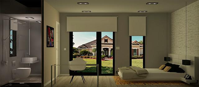 Módulo para jardín - Suite 18 Interior - Resan Modular