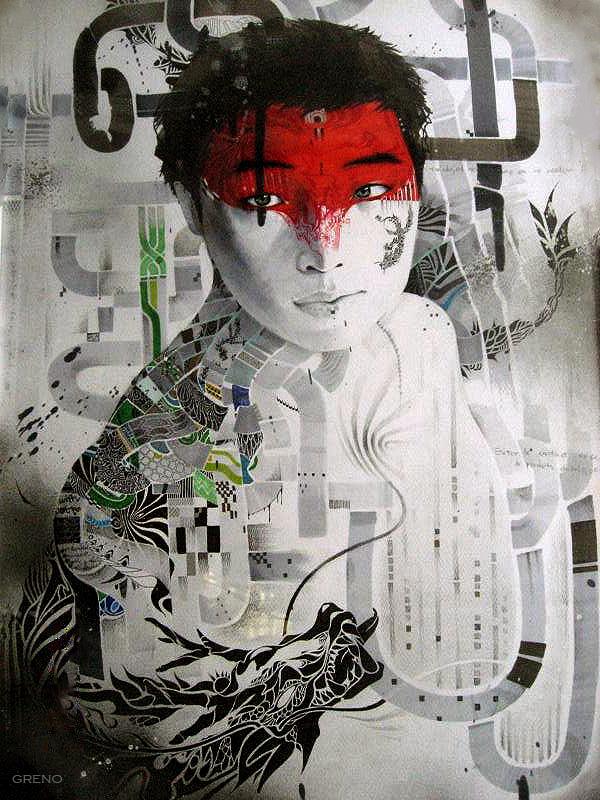 Korean artist Minjae Lee aka Greno reviewed by Yellowmenace