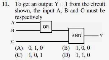 2012 June UGC NET in Electronic Science, Paper III, Question 11