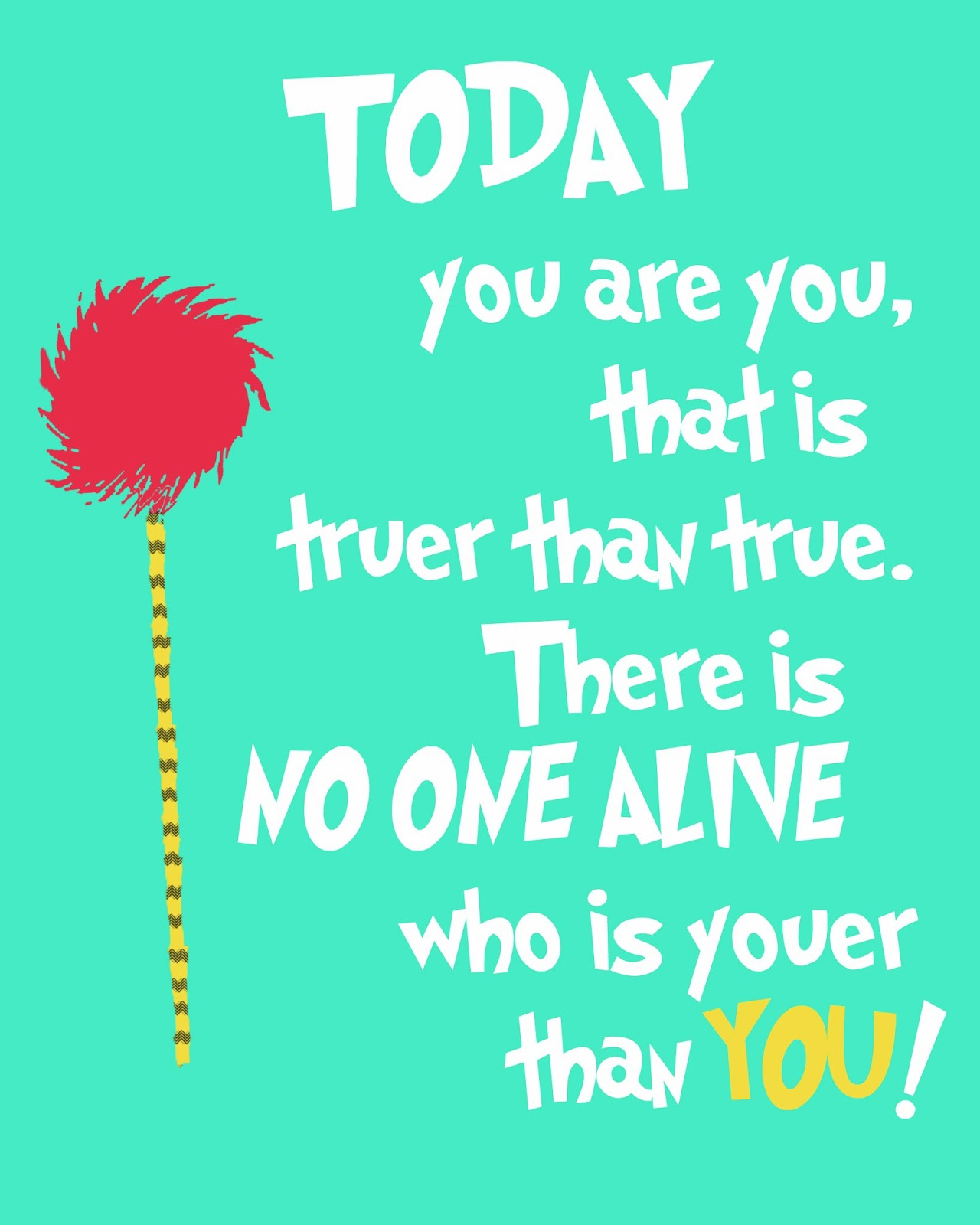 Dr Seuss Quotes About Love Free Printable Drseuss Posters  Craftbnb