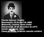 Charles Chaplin - Mensagens e Frases