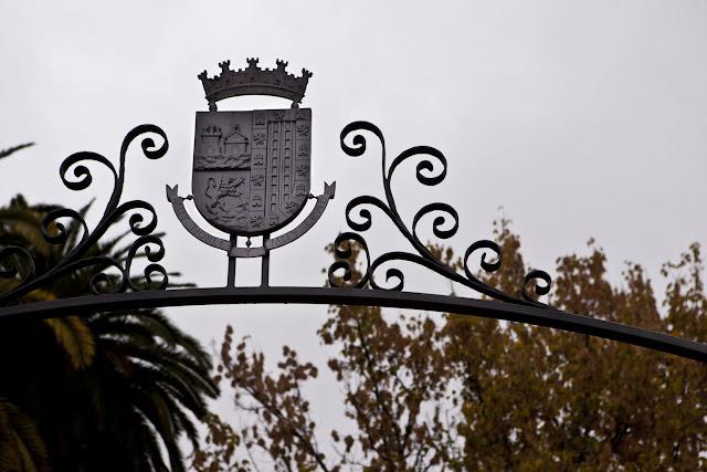 Entrada al jardín Rey D. Pedro Jumilla