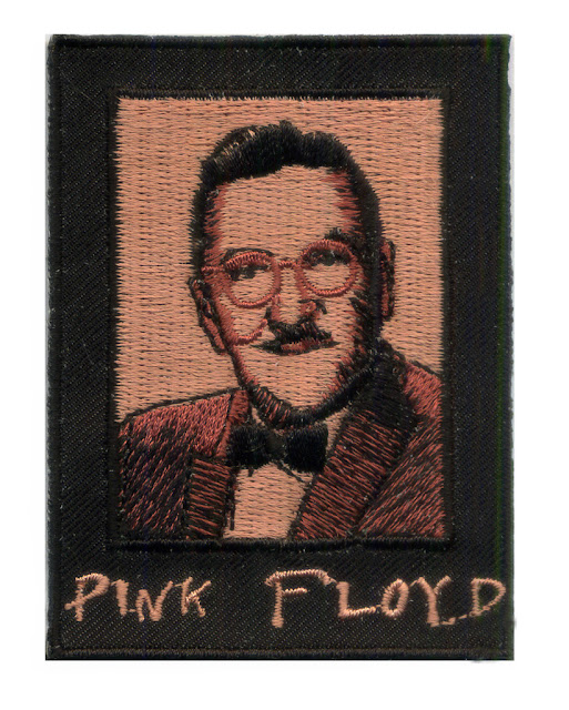 Pink Floyd The Barber Biker Patch