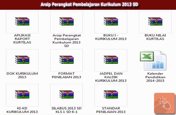 Arsip Perangkat Pembelajaran Kurikulum 2013 SD